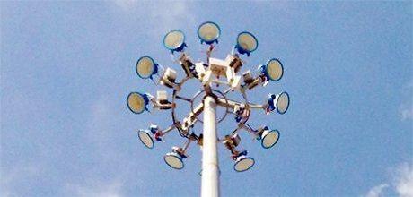 Cột đèn nâng hạ, Trụ đèn nâng hạ Hapulico Industry